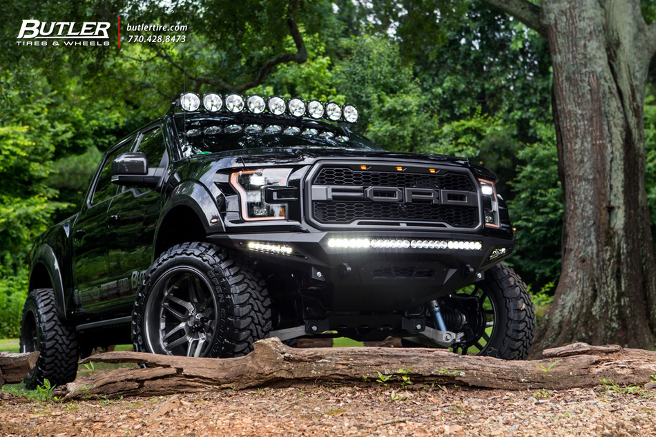 Our Cleanest Ford Raptor Build on Grid Off-Road Wheels to