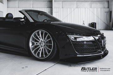 Liberty Walk Widebody Audi R8 Spyder is...JUST PERFECT!