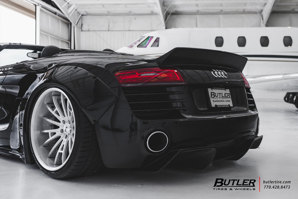 Porsche Gt3 Touring >> Liberty Walk Widebody Audi R8 Spyder is...JUST PERFECT ...