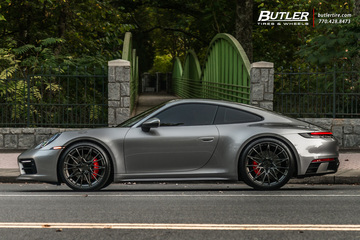 2020 Porsche 992 911 Carrera S on AG Luxury AGL58 Wheels is simply amazing