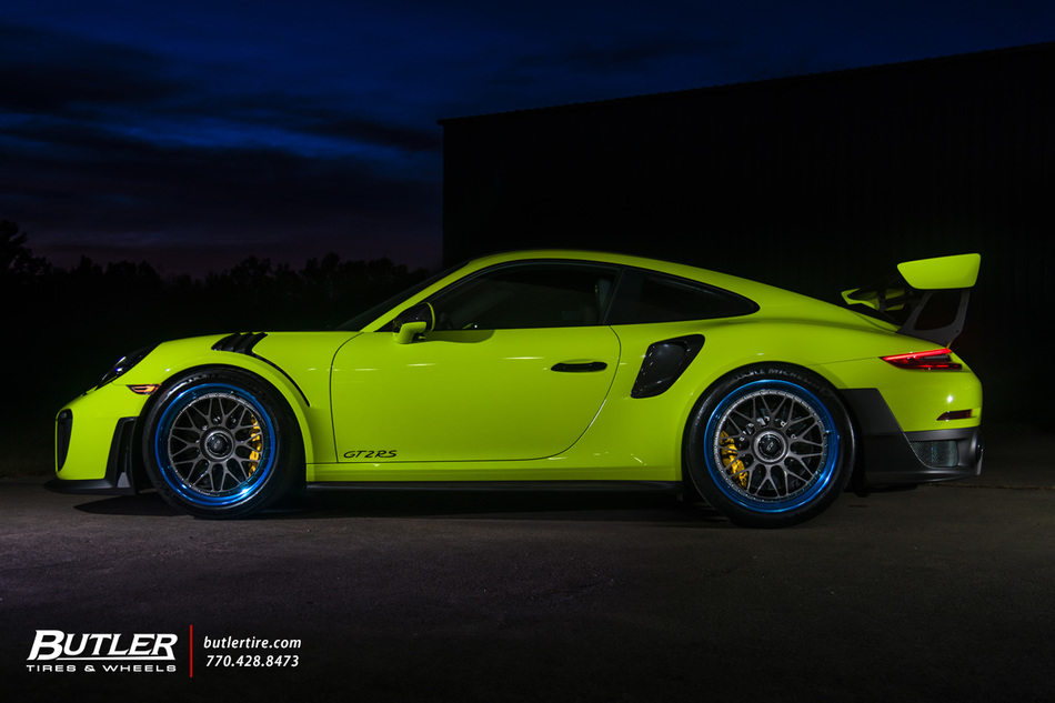 Porsche Gt2 Rs With Hre Classic 300 Wheels And Michelin Pilot Sport Cup 2 Tires 12