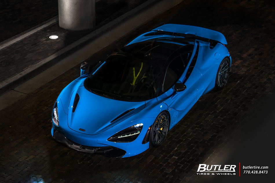 Mc Laren 720s With 2021in Vossen M X6 Wheels And Michelin Pilot Sport 4 S Tires And Novitec Lowering With Fab Speed Exhaust 1