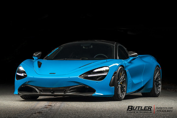 Pruvit Edition McLaren 720s on Vossen M-X6 Wheels and Michelin PS4S Tires