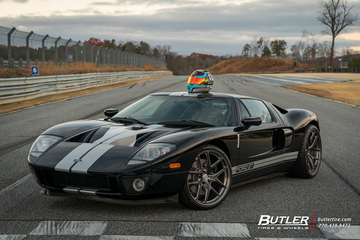 Ford GT with 20in HRE R101 LW Wheels and Pirelli P Zero Tires