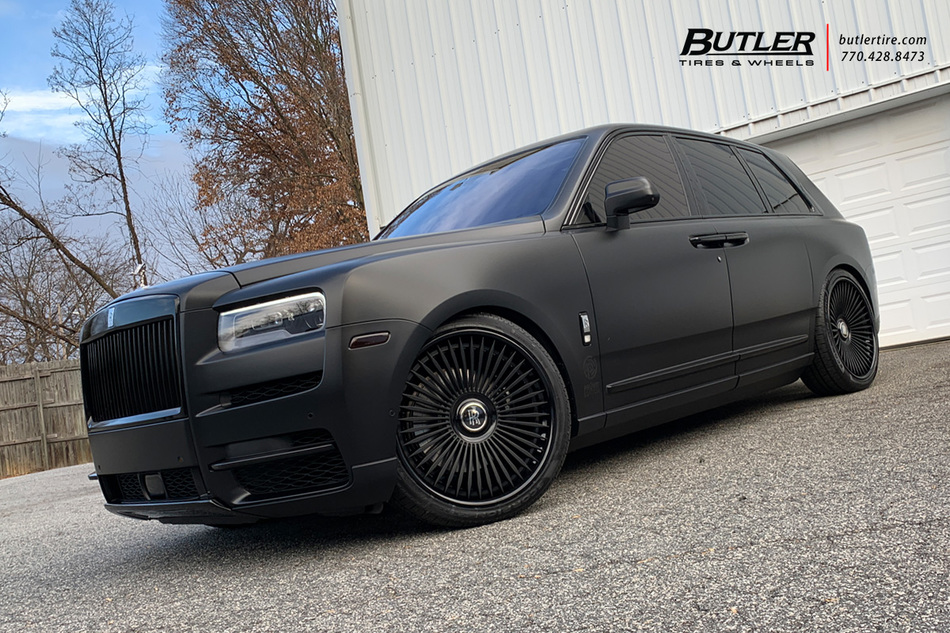 Atlanta Truck Center >> Rolls Royce Cullinan on 24in AG Luxury AGL45 Wheels - Trending at Butler Tires and Wheels in ...