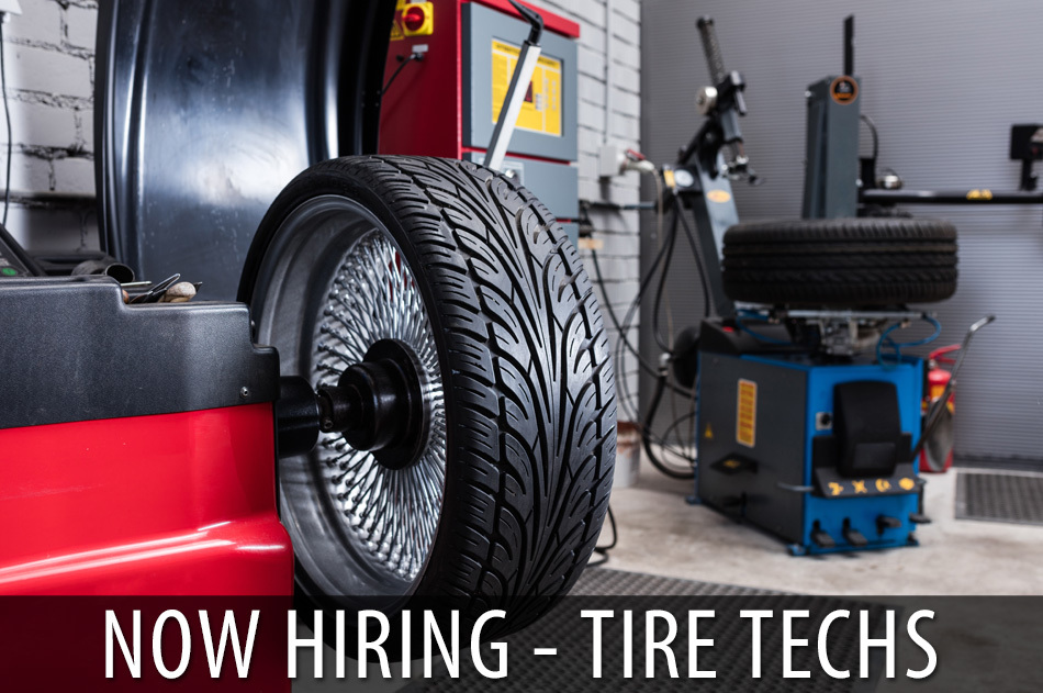 Now Hiring Tire Tech