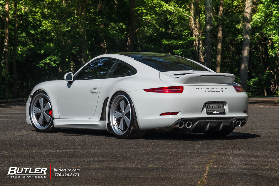Porsche 911 Carrera S With 21in Rotiform Fuc Wheels And Michelin Pilot Sport 4s Tires 35 B
