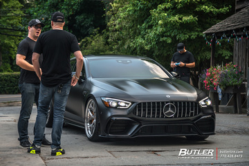 Edition One Mercedes GT63 S AMG featuring Vossen S21-01 3 Piece Wheels