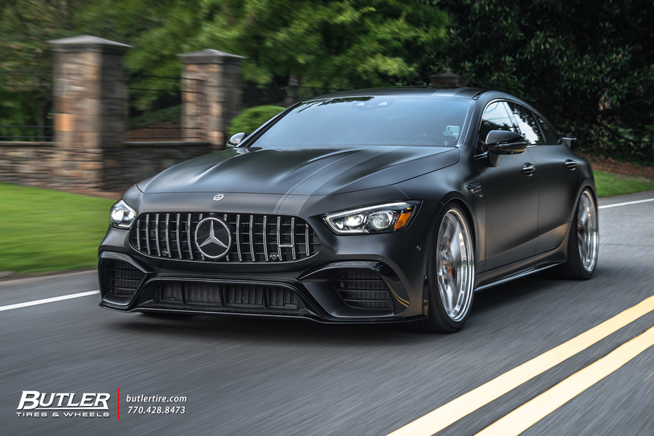 Mercedes Gt63 S With 22in Vossen S21 01 Wheels And Continental Tires 44