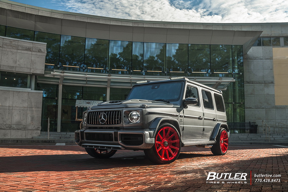 800+ HP Lorinser Mercedes G63 Wagon Will Rock Your World in