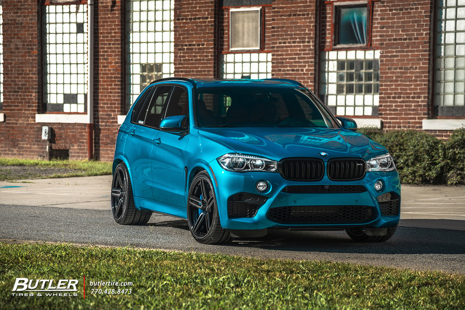 Bmw X5 M With 22in Vossen Hf 1 Wheels And Vredestein Tires 24