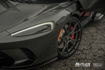 McLaren GT on 21in Vorsteiner V-FF 103 Wheels