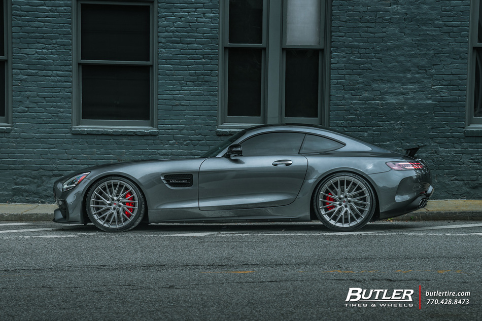 Renntech Mercedes Amg Gtc Coupe With 21in Vossen Evo 6 T Wheels And Michelin Pilot Sport 4 S Tires   Wall Street 9