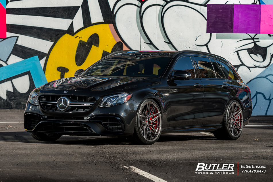 Renntec Mercedes E63 Amg Wagon With 21in Vossen Evo 5 R Wheels And Michelin Pilot Sport 4 S 26