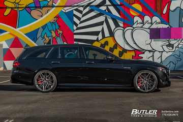 Renntech Mercedes E63s AMG Wagon with 21in Vossen EVO-5R Wheels and Michelin Pilot Sport 4S Tires