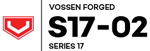 Vossen S1702 Wheels Logo