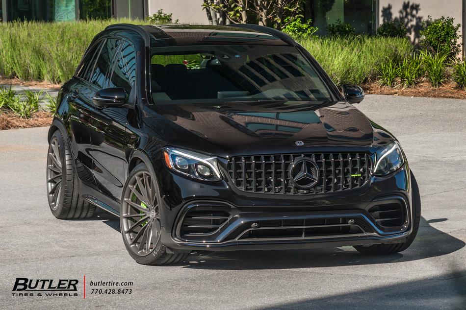 Mercedes Glc63 With 22in Hre P103 Wheels And Michelin Pilot Super Sport Tires   Av 9