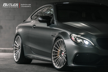 Edition 1 Mercedes C63S Coupe on Vossen S17-04 Wheels