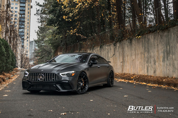 Edition 1 Mercedes AMG GT63s on 22in Rotiform OZR Wheels