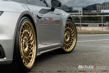 2021 Porsche 992 Turbo S on custom Vossen ML-R2 Wheels